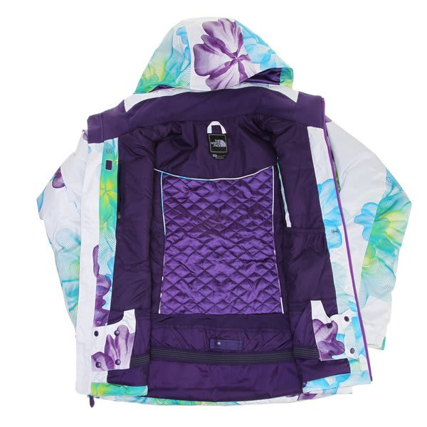 On Sale The North Face Snow Cougar Print Ski Jacket - Womens up to