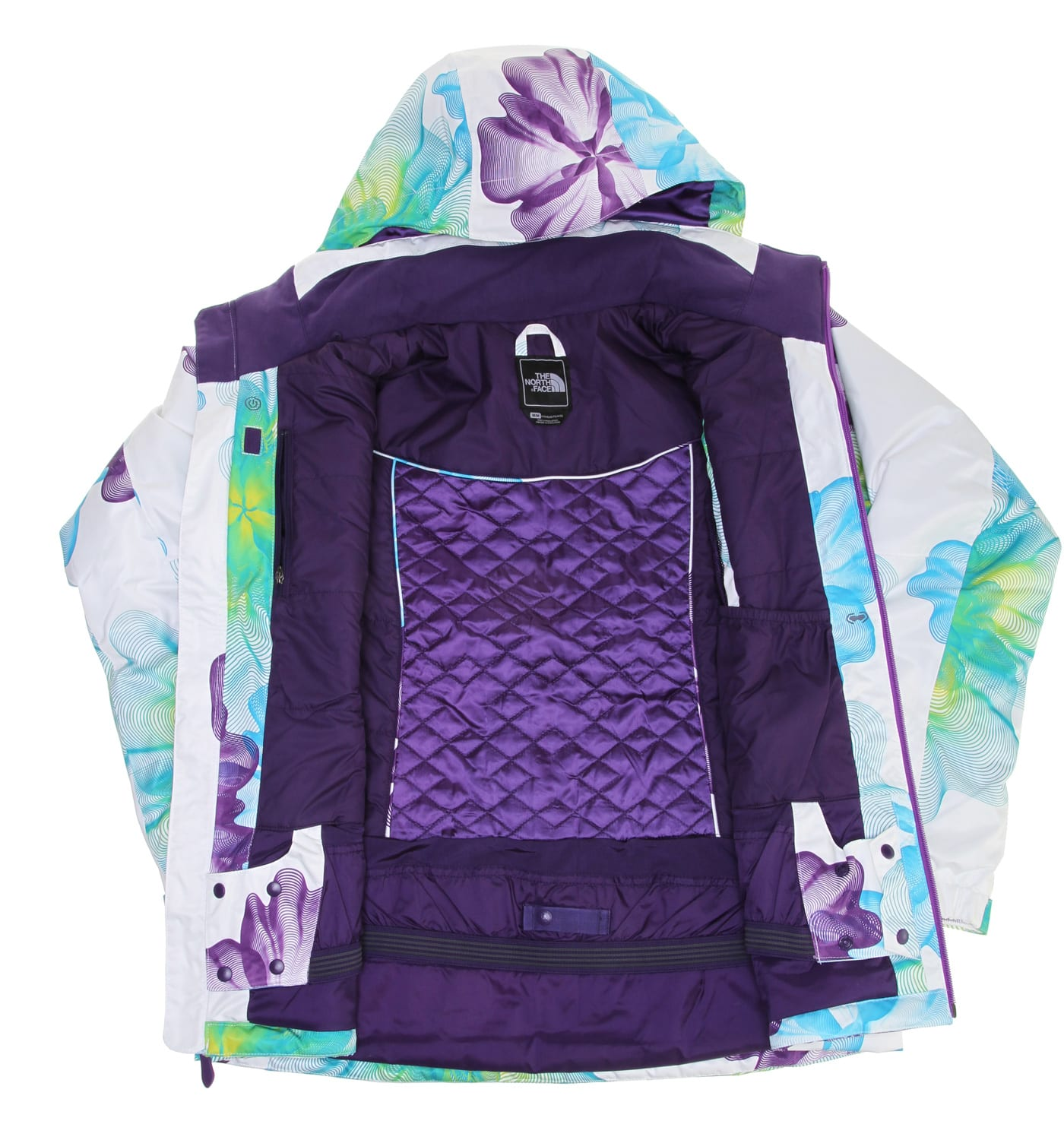Sale The North Face Snow Cougar Print Ski Jacket Womens up to 60% off