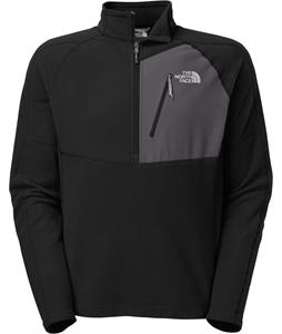 The North Face Tech 100 1/2 Zip Fleece TNF Black