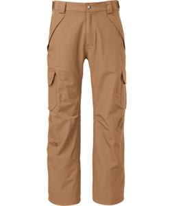 The North Face The Lifty Cargo Ski Pants Tigers Eye Tan