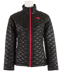 The North Face Thermoball Full Zip Jacket TNF Black/Cerise Pink