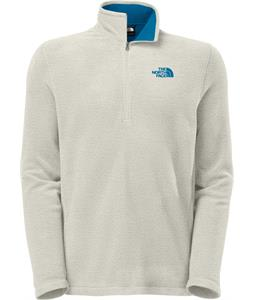 The North Face TKA 100 Glacier 1/4 Zip Fleece Moonstruck Grey Heather/Heron Blue