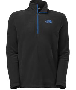 The North Face TKA 100 Glacier 1/4 Zip Fleece TNF Black/Monster Blue