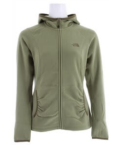 The North Face TKA 100 Texture Masonic Hoodie Grecian Green
