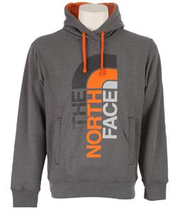 The North Face Trivert Logo Pullover Hoodie Charcoal Grey Heather