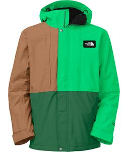 The North Face Turn It Up Ski Jacket Night Green