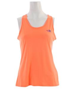 The North Face Velocitee Singlet Top Electro Coral Orange