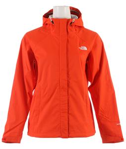 The North Face Venture Jacket Fire Brick Red Eyelet