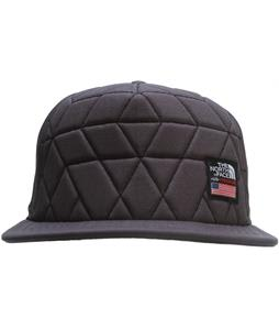 The North Face International Freeski Flat Brim Cap Heather Grey/TNF Black (Usa)