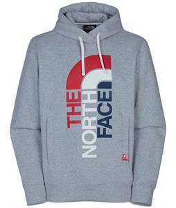 The North Face International Pullover Hoodie Heather Grey/TNF Red (Usa)