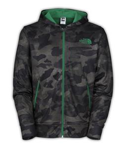The North Face Zalman Full Zip Hoodie Military Green Camo