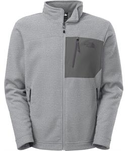 The North Face Chimborazo Full Zip Fleece High Rise Grey Heather