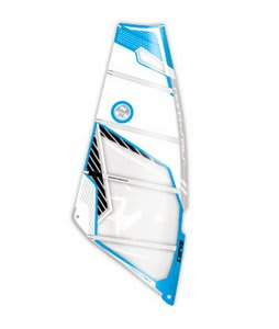 North Sails Curve Windsurf Sail White/Blue 5.8M