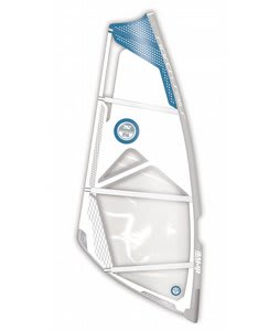 North Sails Drive Light Windsurfing Sail 6.4 White/Blue