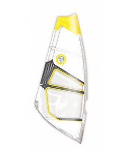 North Sails Drive Light Windsurfing Sail 7.0 White/Yellow