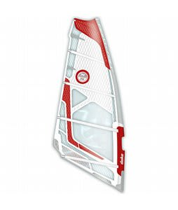 North Sails Duke Windsurf Sail White/Red 6.4M