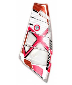 North Sails Ice Windsurf Sail White/Red 5.3M