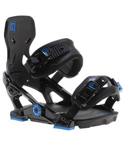 Now IPO Snowboard Bindings Black/Blue
