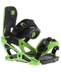Now Select Snowboard Bindings Green