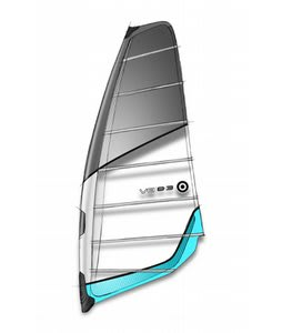 Neilpryde V8 Windsurfing Sail 6.0m Blue/Grey