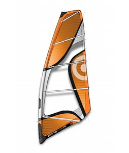 Neilpryde Zone Windsurfing Sail 4.0m Orange/Grey