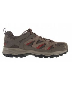The North Face Tyndall Hiking Shoes Weimr/Slickrock Red