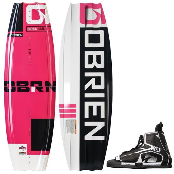 OBrien Siren Wakeboard w/ Device Bindings