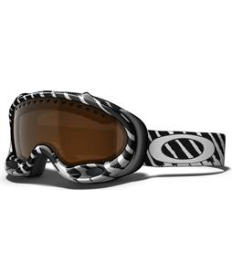 Oakley A Frame Snowboard Goggles Shaun White Highlight White-Black/Black Iridium Lens