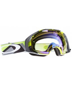Oakley Airbrake Goggles Factory Slant 2 Green/H Lens