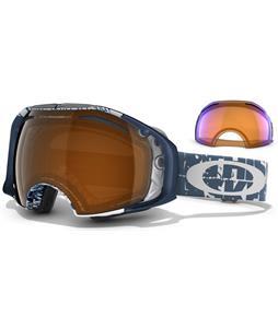 Oakley Airbrake Goggles Tagline/Black + H.I. Persimmon Lens