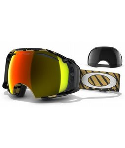 Oakley Airbrake Goggles Shaun White Highlight Gold/Fire Irid + Dark Grey Lens