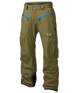 Oakley Allied Gore-Tex Snowboard Pants Worn Olive