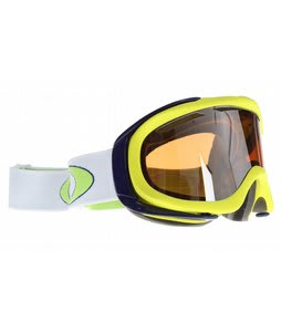 Oakley Ambush Goggles Lightning Green/Black Irid + Persimmon Lens