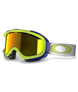 Oakley Ambush Snowboard Goggles Lightning Green/Fire Iridium Lens