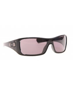 Oakley Antix Sunglasses Polished Black/Grey Lens
