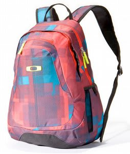 Oakley Base Load Backpack Red Print