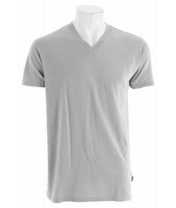 Oakley Basic V T-Shirt Stone Grey
