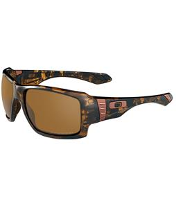 Oakley Big Taco Sunglasses Brown Tortoise/Bronze Polarized Lens