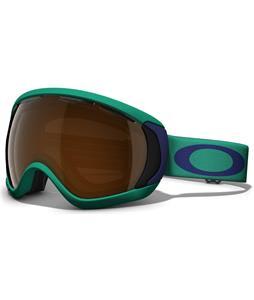 Oakley Canopy Goggles Mint Leaf Black Iridium Lens