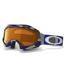 Oakley Catapult Snowboard Goggles Factory Slant 2 Blue/Persimmon Lens