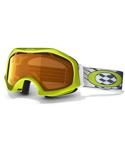 Oakley Catapult Snowboard Goggles Lightning Green/Persimmon Lens