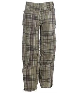 Oakley Checked Out Snowboard Pants Hazel Plaid