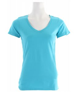 Oakley Classic V T-Shirt Bright Aqua