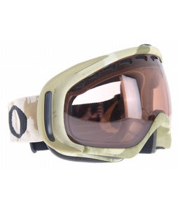 Oakley Crowbar Goggles Snow Bark Camo Khaki/Vr50 Lens