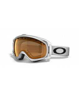 Oakley Crowbar Goggles Matte White/Persimmon Lens
