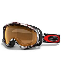 Oakley Crowbar Snowboard Goggles Seth Morrison Mountain Reaper/Persimmon Lens