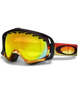 Oakley Crowbar Goggles Shockwave Fire/Fire Iridium Lens
