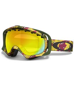 Oakley Crowbar Goggles Tanner Hall High Grade/Fire Lens