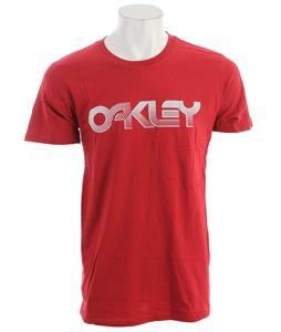 Oakley Current Edition T-Shirt New Crimson