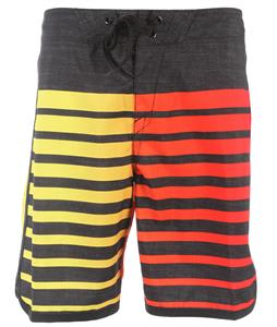 Oakley Descend 19in Boardshorts Red Line